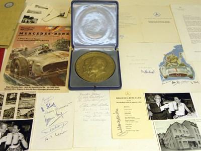 Lot 144-Important Archive of Mercedes-Benz Ephemera