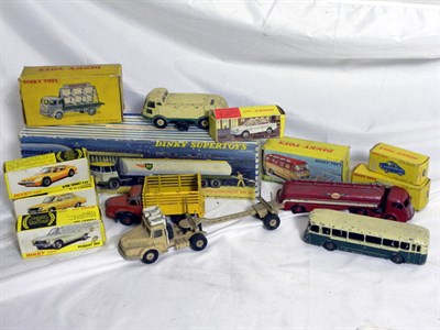 Lot 220-French and Spanish Dinky Toys