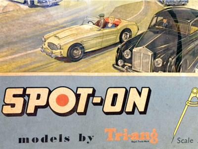 Lot 221-Spot On Toys Road Way Set