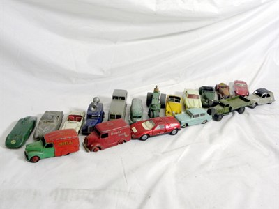 Lot 222-Loose Dinky Toys