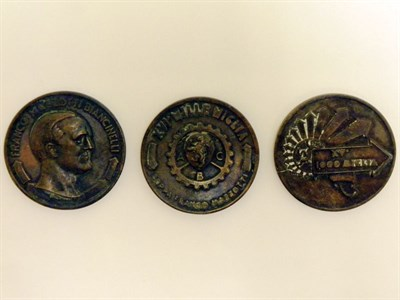 Lot 229-Mille Miglia Medals
