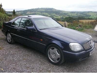 Lot 32-1996 Mercedes-Benz CL 600