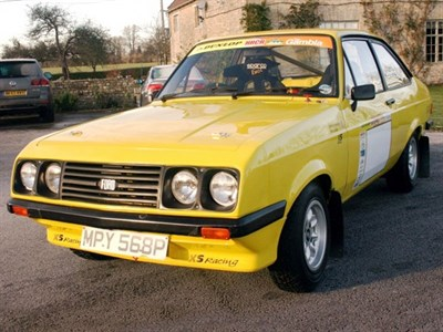 Lot 62-1976 Ford Escort RS 2000