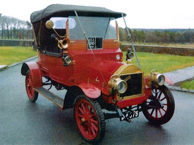 Lot 25-1910 Briton 10hp Tourer