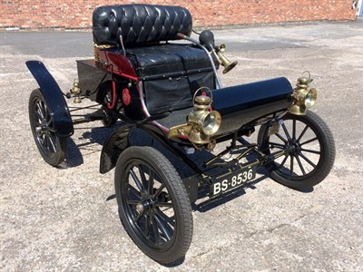 Lot 63-1903 Oldsmobile Curved Dash 5hp Runabout