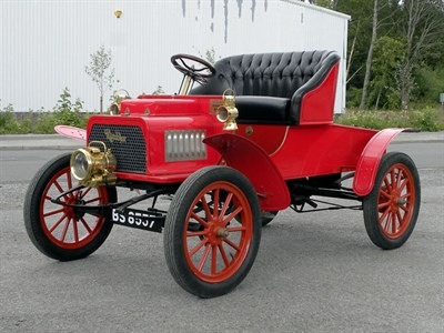 Lot 28-1904 Rambler 8hp Sports