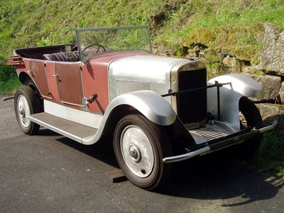 Lot 38-1930 Sunbeam 20.9 Tourer