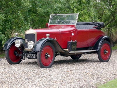 Lot 15-1923 AC 12hp Tourer