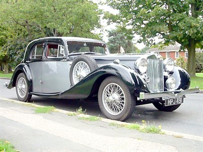 Lot 31-1939 MG WA Saloon