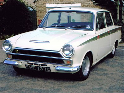 Lot 22-1965 Ford Lotus Cortina
