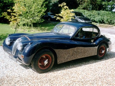 Lot 44-1955 Jaguar XK140 SE Fixed Head Coupe
