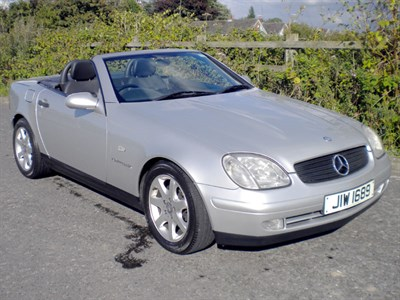 Lot 2-1998 Mercedes-Benz SLK 230 Kompressor