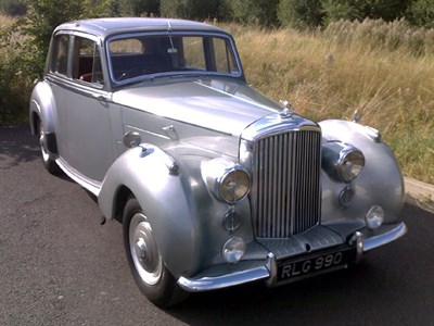 Lot 12-1953 Bentley R-Type Saloon
