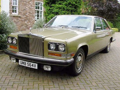 Lot 47-1980 Rolls-Royce Camargue