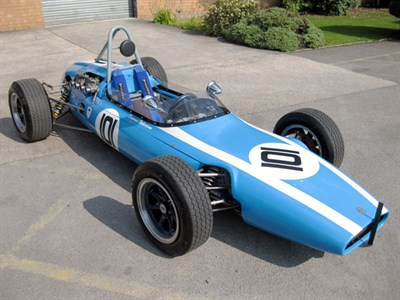 Lot 37-1962 Cooper-Fisk T59 Single Seater