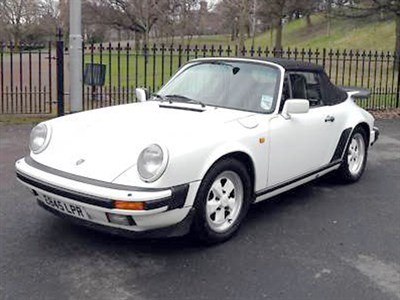 Lot 24-1988 Porsche 911 Carrera Cabriolet