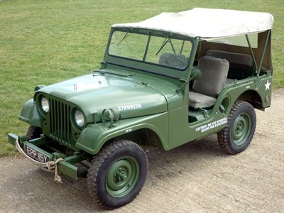 Lot 21-1953 Willys Jeep M38A-1