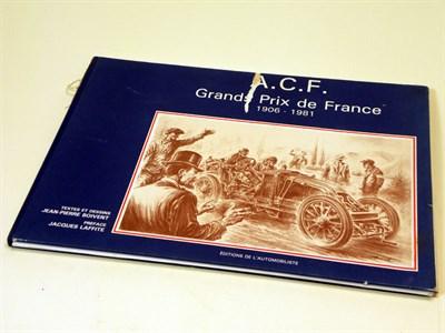 Lot 105-A.C.F. Grands Prix De France 1906-1981