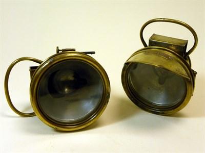 Lot 305-A Pair of Schmitt's Headlamps