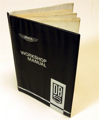 Lot 103-Aston Martin DB5 Workshop Manual