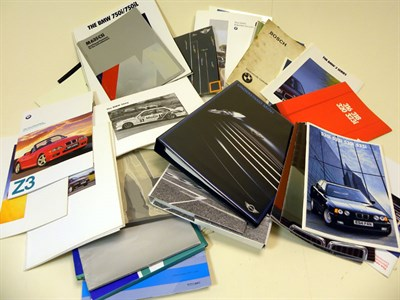 Lot 113-Quantity of BMW Ephemera
