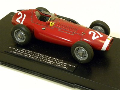Lot 203-1954 Ferrari 553 Squalo Scratch-Built Model