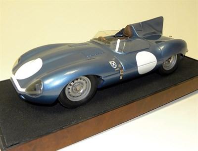Lot 204-Jaguar D-Type Scratch-Built Model
