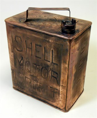 Lot 307-A Shell Petrol Can