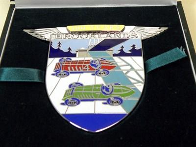 Lot 311-B.A.R.C. Brooklands Badge