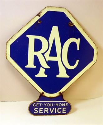 Lot 700-An RAC Enamel Sign