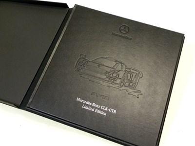 Lot 108-Mercedes-Benz CLK - GTR Publicity Book