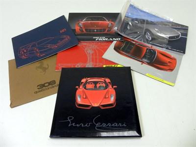 Lot 101-Quantity of Ferrari Brochures
