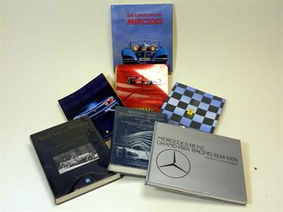 Lot 114-Seven Motoring Books