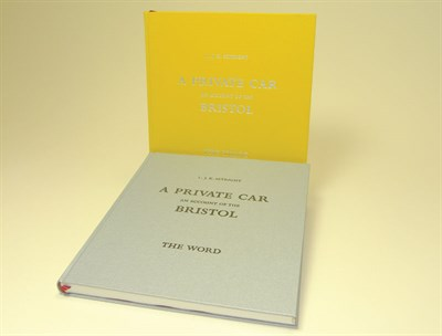 Lot 109-A Private Car - An Account of the Bristol By L. K. Setright