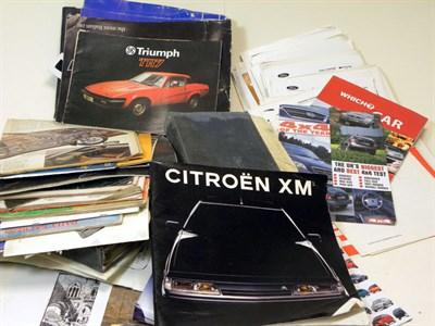 Lot 116-Assorted Literature