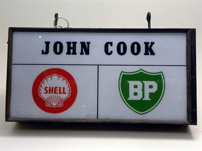 Lot 703-John Cook Illuminated Lightbox **