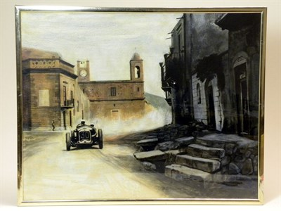 Lot 502-'Targa Florio' 1930 by B.D. Taylor