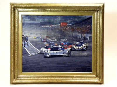 Lot 504-'Le Mans, 1988' by B.D. Taylor