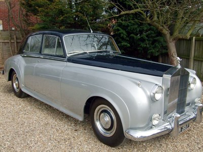 Lot 13-1956 Rolls-Royce Silver Cloud