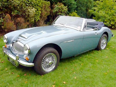 Lot 42-1966 Austin-Healey 3000 MKIII