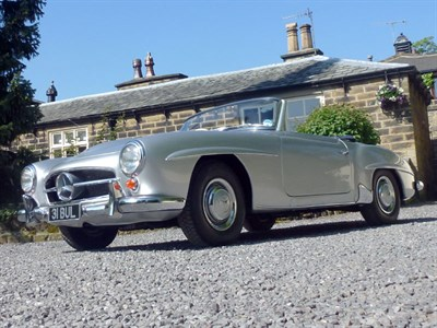 Lot 45-1961 Mercedes-Benz 190 SL