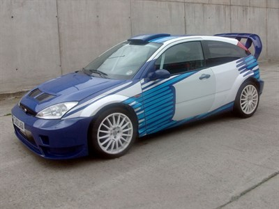 Lot 56-2002 Ford Focus Zetec 'WRC' Show Car