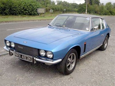 Lot 22-1972 Jensen Interceptor Mk3