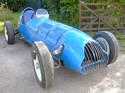 Lot 3-c.1933/35 Riley Special Supercharged Single Seater