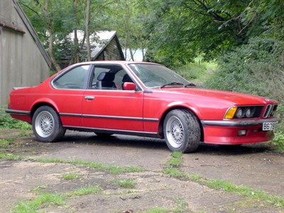 Lot 1-1985 BMW M635 CSi