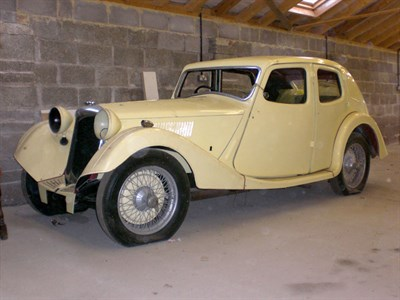 Lot 2-1935 Riley 12/4 Kestrel