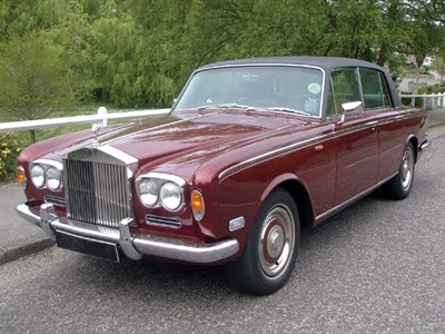 Lot 12-1970 Rolls-Royce Silver Shadow