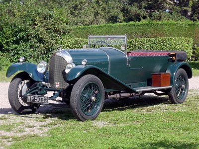 Lot 38-1926 Bentley 3 Litre Tourer