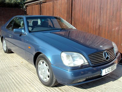 Lot 6-1994 Mercedes-Benz S 500