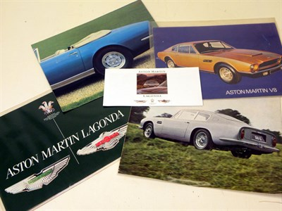 Lot 103-Quantity of Rolls-Royce/Bentley Brochures